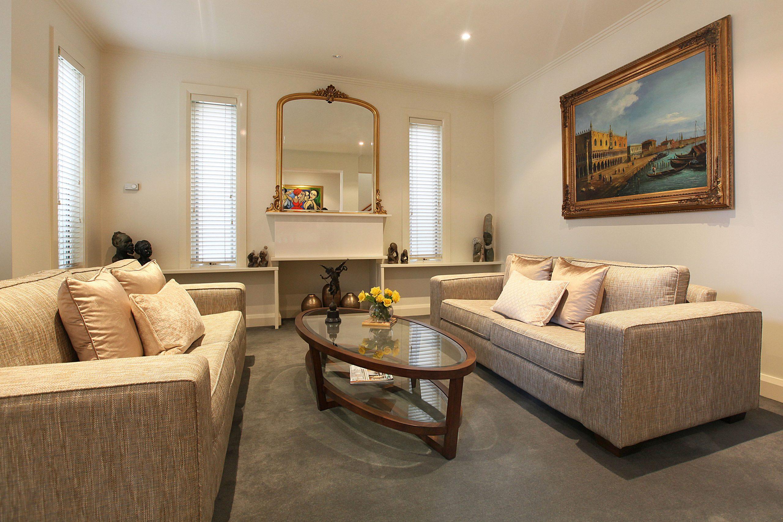 Living Room - Interior Designer Melbourne