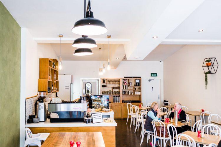 interior design melbourne, cafe fit out