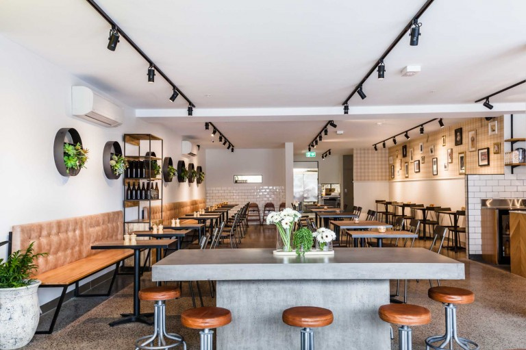 cafe fit out melbourne, interior designer melbourne
