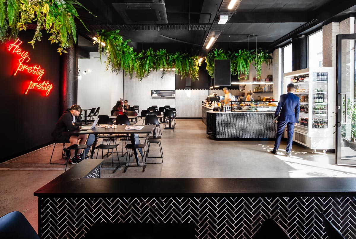 interior designer melbourne, cafe design