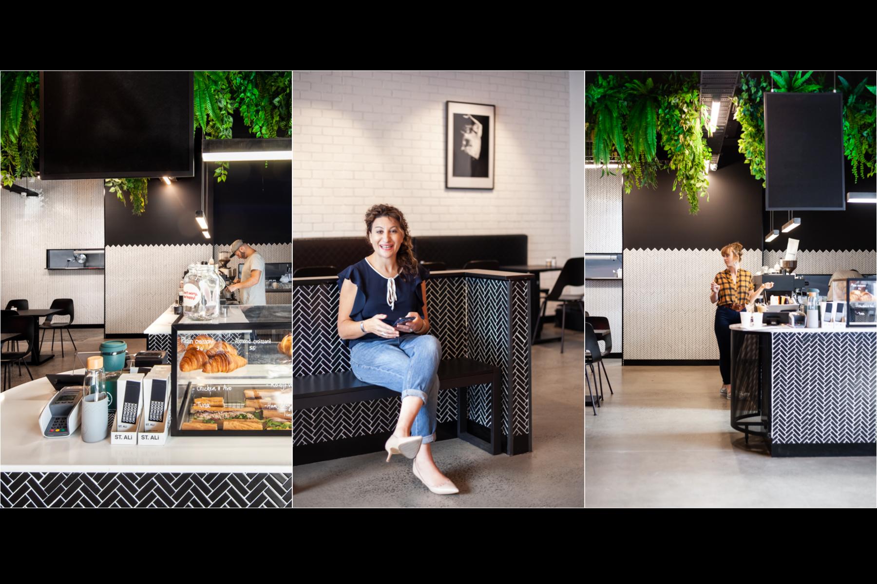 TRIO melbourne interior designer cafe design
